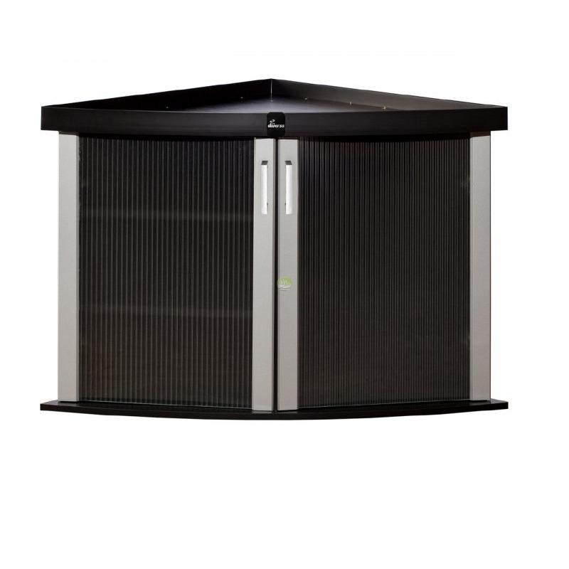 Szafka Modern 72x72x77 TRIO - kolor czarny