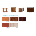 Szafka Solid 150x50x75 prosta/profil - kolory extra