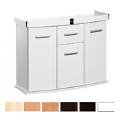 Szafka Solid 150x50x75 prosta/profil - kolory standard