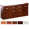 Szafka Solid 200x60x75 prosta/profil - kolory extra