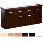 Szafka Solid 200x60x75 prosta/profil - kolory standard