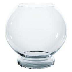 Szklana kula [13.5ll] Z PODSTAWĄ - wabi kusa/las w słoiku (250436)