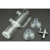 Szklany inkubator dla krewetek