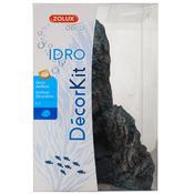Sztuczna skała Zolux IDRO KIT BLACK STONE PM - z żywicy