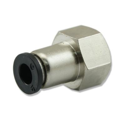 Szybkozłączka metalowa GW [1/4 cala] do reduktora z rotametrem