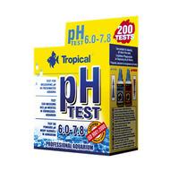 Test pH TROPICAL - zakres 6.0-7.8