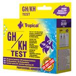 Test TROPICAL GH/KH (twardość ogólna i węglanowa)