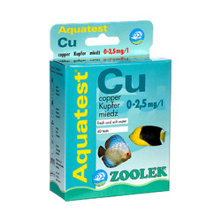 Test ZOOLEK Aquatest Cu
