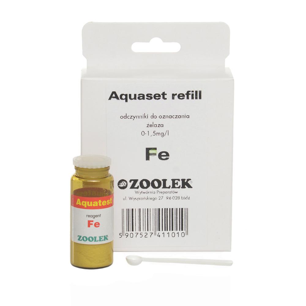 Test ZOOLEK Aquatest Fe Refill - uzupełnienie