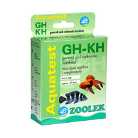 Test ZOOLEK Aquatest GH+KH (twardość ogólna i węglanowa)