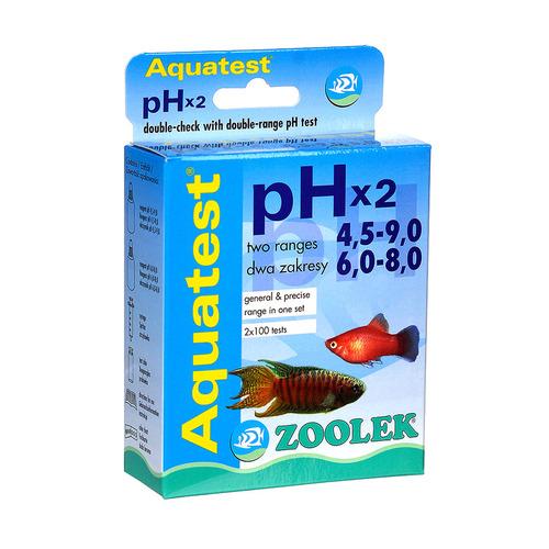 Test ZOOLEK Aquatest pH x2