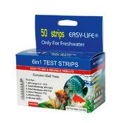 Testy paskowe Easy-Life 6w1 (pH, GH, KH, NO2, NO3, CL2) - 50 pomiarów