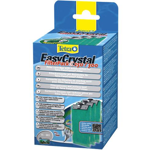 Tetra EasyCrystal Filter Pack C 250/300 - wkład z aktywnym węglem