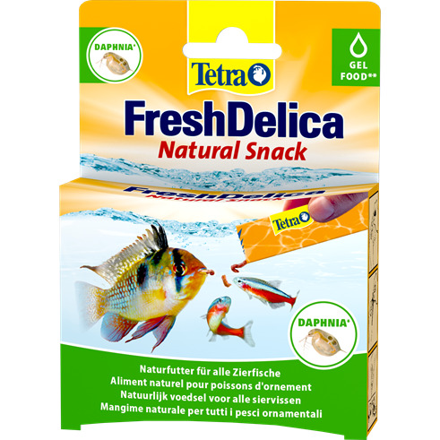 Tetra FreshDelica Daphnia [48g] - dafnia pasta/żel