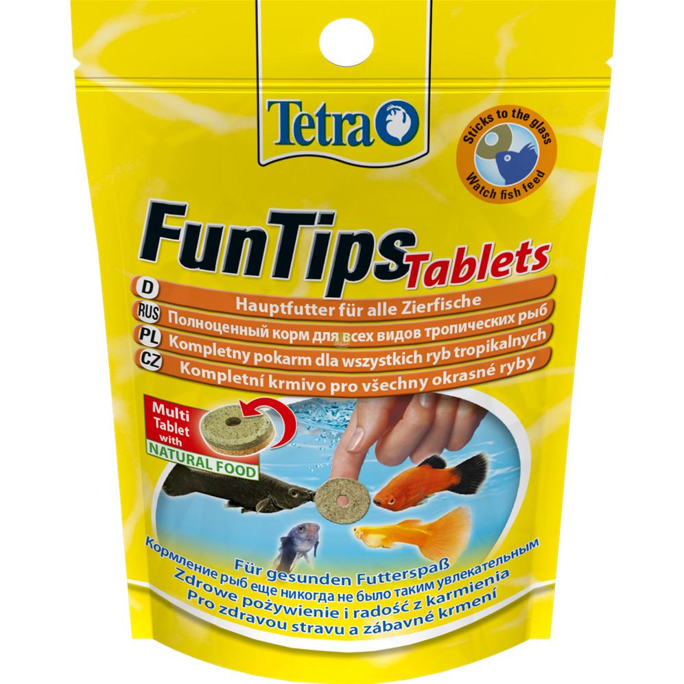 Tetra FunTips Tablets [20 tabl.] - pokarm dla ryb w tabletkach