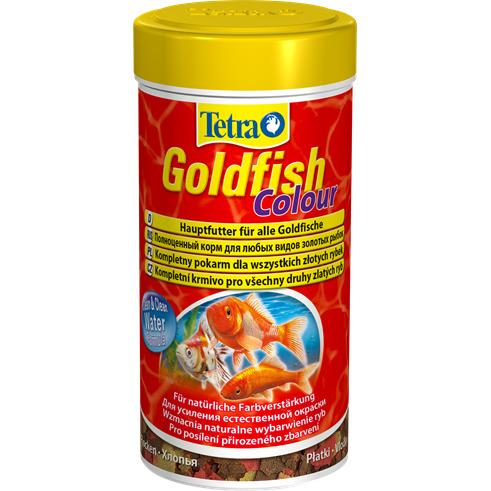 Tetra Goldfish Colour [250ml] - pokarm wybarwiający dla złotych rybek