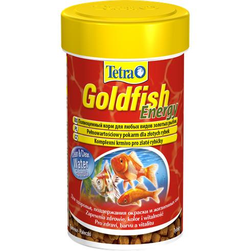 Tetra Goldfish Energy [100ml] - pokarm dla złotych rybek