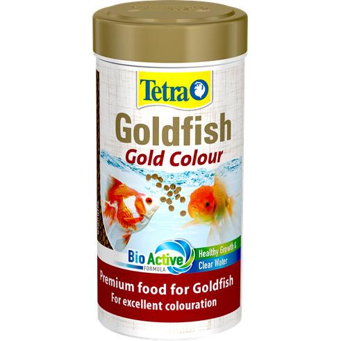 Tetra Goldfish Gold Colour [250ml] - pokarm dla złotych rybek
