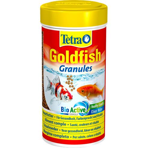 Tetra Goldfish Granules [100ml] - pokarm dla złotych rybek