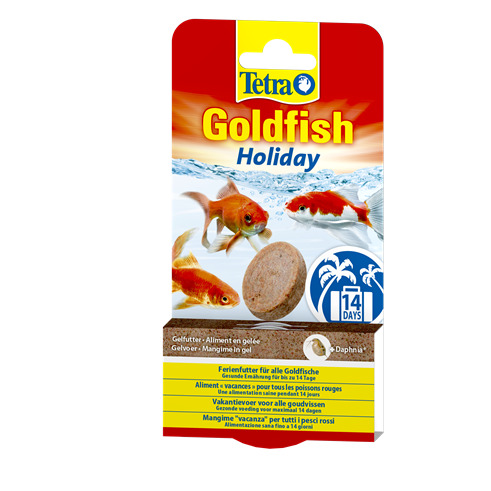 Tetra Goldfish Holiday 2x12g (żel)