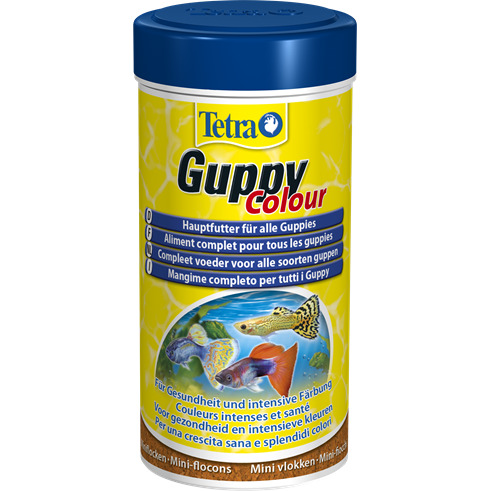 Tetra Guppy Colour [250ml] - pokarm wybarwiający dla gupików