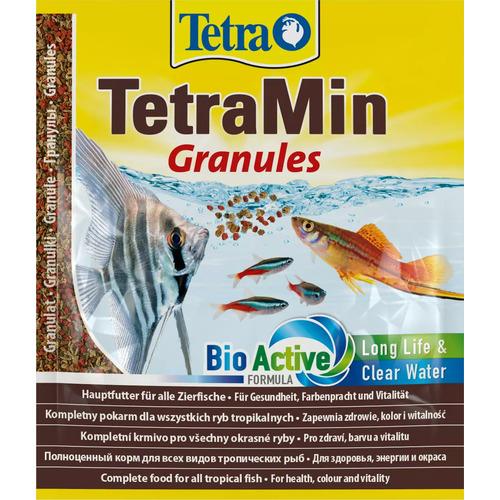 Tetra Min Granulat [12g - saszetka] - pokarm granulowany dla ryb
