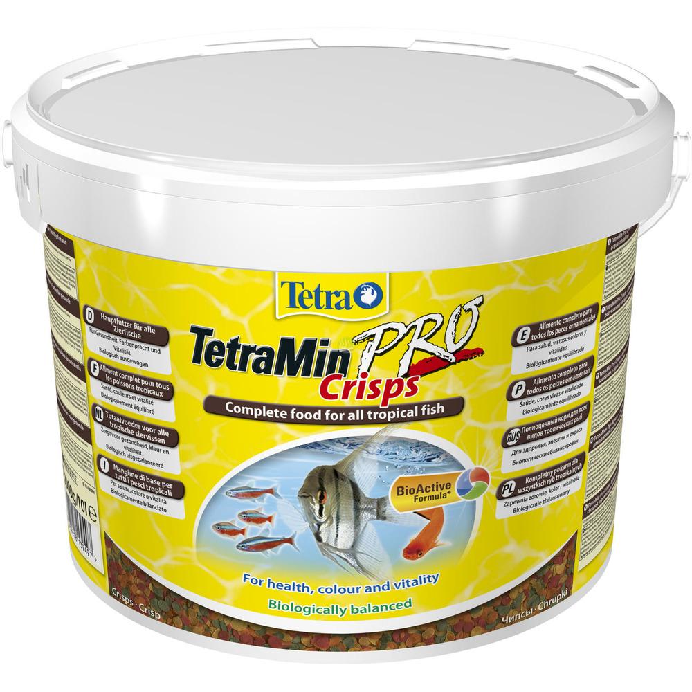 Tetra Min Pro Crisps [10l, wiaderko] - pokarm podstawowy dla ryb