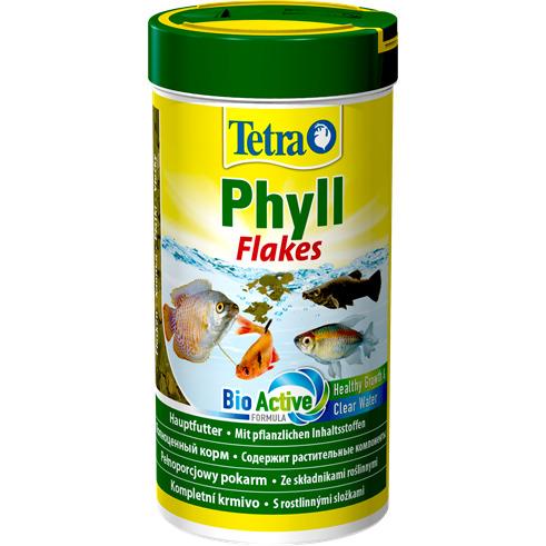 Tetra Phyll [250ml] - pokarm roślinny płatkowy dla ryb