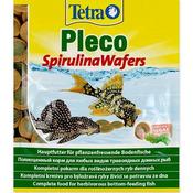 Tetra Pleco Spirulina Wafers [15g] - pokarm dla ryb roślinożernych żerujących w strefie dennej.