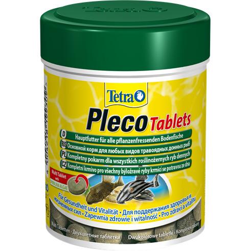 Tetra Pleco Tablets [120 tbl.] - pokarm dla ryb dennych