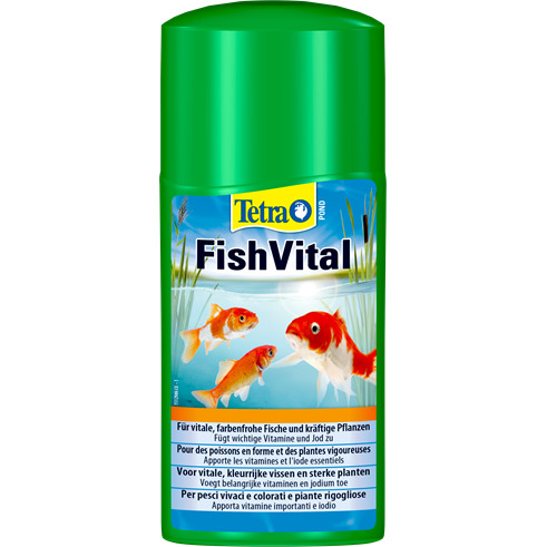 Tetra Pond FishVital [250ml] - środek z witaminami