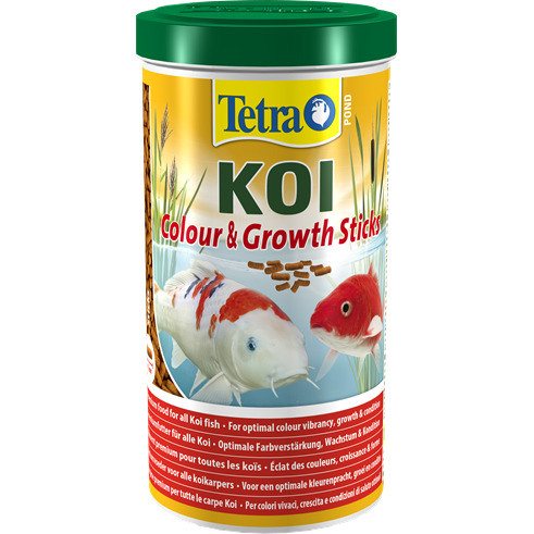 Tetra Pond Koi Colour&Growth Sticks [1l] - pokarm dla karpi koi