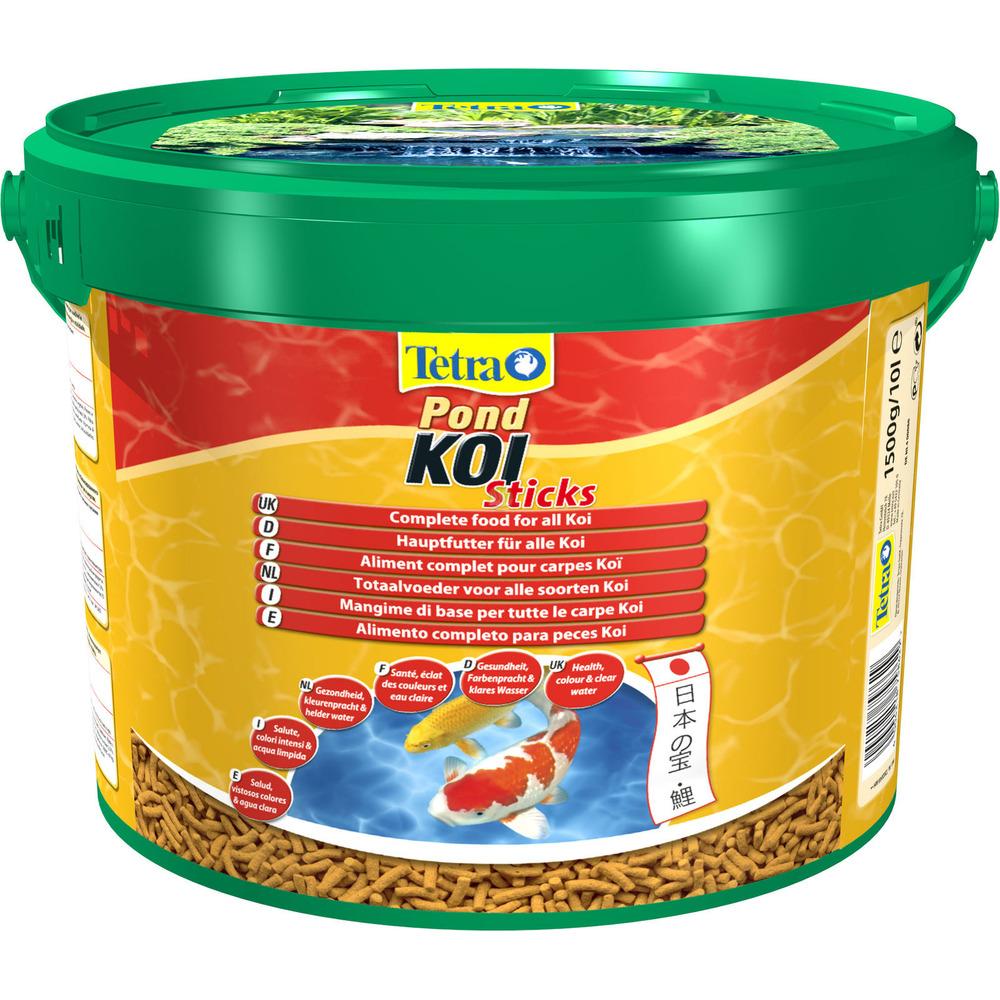 Tetra Pond Koi Sticks [10l, wiaderko] - pokarm dla karpi koi