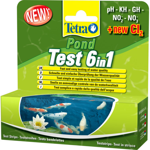 Tetra Pond Test 6in1 25 pcs.
