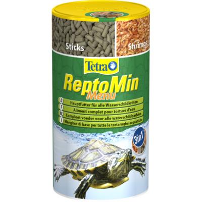 Tetra Repto Min 250ml 3w1 - mieszanka pokarmów
