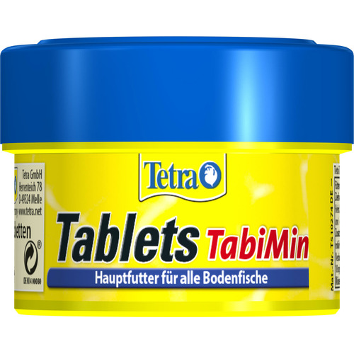 Tetra Tablets TabiMin [58 tbl.] - pokarm w tabletkach dla ryb dennych