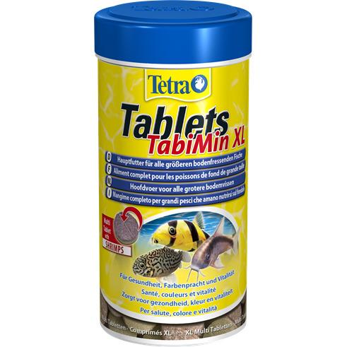 Tetra Tablets TabiMin XL [133 tbl.] - pokarm w tabletkach dla większych ryb dennych