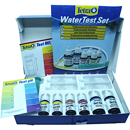 Tetra Water Test Set - zestaw 5 testów w walizce