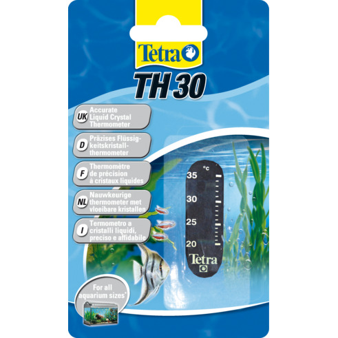 TetraTec TH 30 - termometr samoprzylepny, pionowy 20-30st.