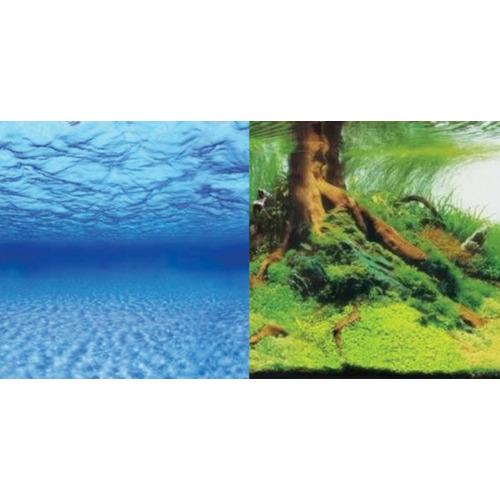 Tło dekoracyjne Aquael 100x50cm (9045+/9046) - samoprzylepne, dwustronne
