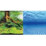 Tło dekoracyjne Aquael 100x50cm (9045/9046+) - samoprzylepne, dwustronne