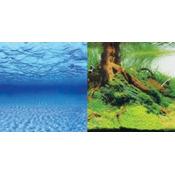 Tło dekoracyjne Aquael 150x60cm (9045+/9046) - samoprzylepne, dwustronne