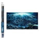 Tło Hydor Atlantis (80x40cm) + żel