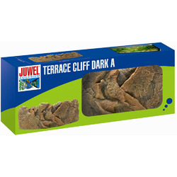 Tło strukturalne JUWEL Taras Cliff Dark A (ciemny, wypukły)