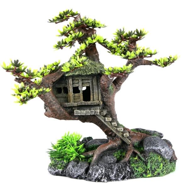TREE HOUSE - Dom na drzewie LIŚCIE 28x15x24,5cm