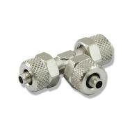 Trójnik metalowy T [6mm] - skręcany (zaciskowy)