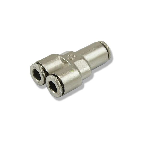 Trójnik metalowy Y [6mm] - z szybkozłączkami
