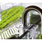 Uchwyt akrylowy na szklane i metalowe rurki