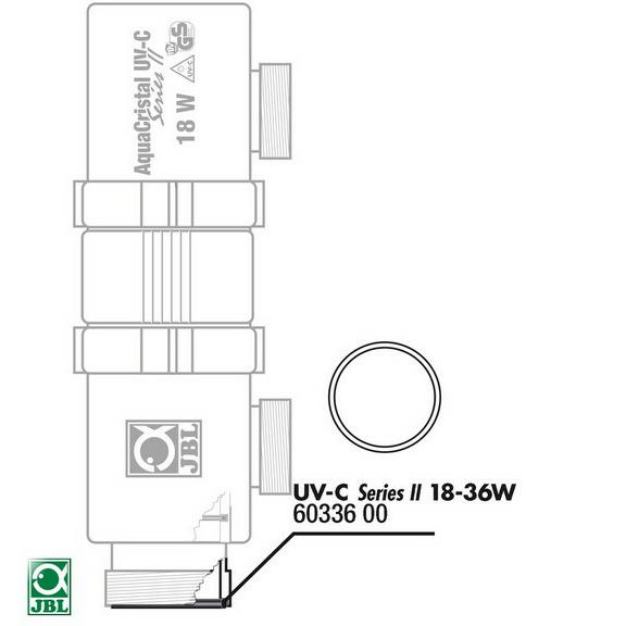 Uszczelka do lampy UV JBL UV-C 18/36W (6033600)