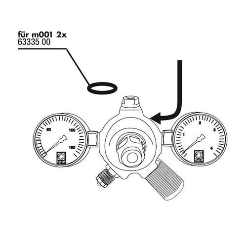 Uszczelka do reduktora JBL ProFlora m001 - 2 sztuki (6333500)